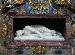 Santa Cecilia in Trastevere tomb.jpg