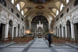 Santa Cecilia in Trastevere interior.jpg
