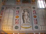 2011 Ambrogio, sacristy wall left of altar