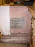 2011 Ambrogio, main altar dedication