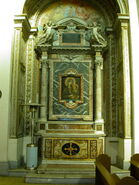 2011 Ambrogio, second left altar