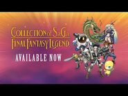COLLECTION of SaGa FINAL FANTASY LEGEND - Launch Trailer