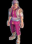 SSG Mondo character model