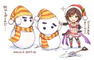 IS Snowman Azami Artwork