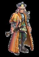 SSG Khan character model