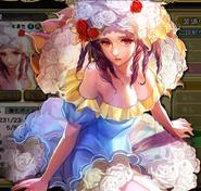 IS Princess White Rose Artwork