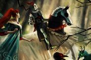 Chalice knight
