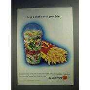 McSaladShakers 2000 Ad