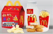 McDonald's Chicken McNugget Happy Meal in the 1997 My McDonald's Rebrand