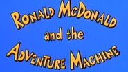 Ronald McDonald and the Adventure Machine (1987)