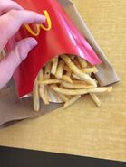More large McDonald's fries