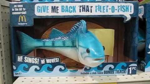 Singing Filet-O-Fish Fish