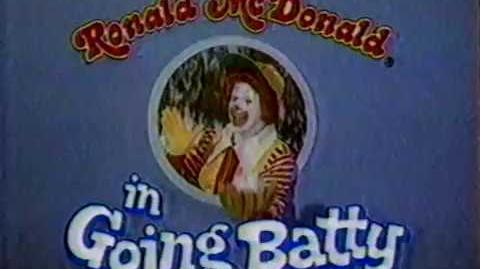 Ronald McDonald in Going Batty