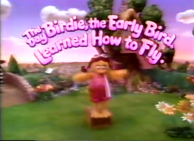 The Day Birdie, the Early Bird Learned How to Fly