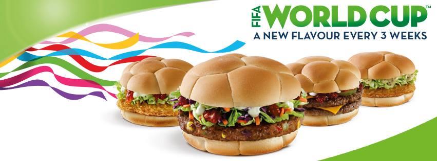 World Cup burger