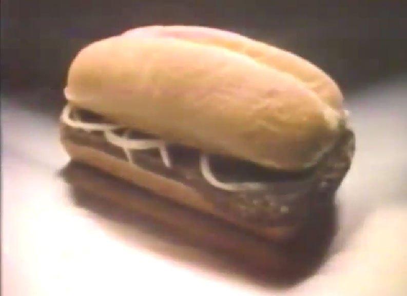 Chopped Beefsteak Sandwich