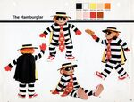 Hamburglar specifications 1986
