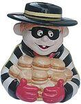 Hamburglar Cookie Jar