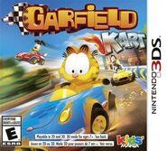 Garfield 3DS Box art