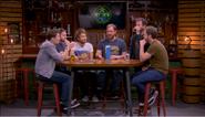 The main Achievement Hunter cast on set, Episode 7