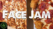 Face Jam Pizza Hut Big Dipper & Mozzarella Popper Pizzas