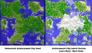 Achievement City Original vs Latest