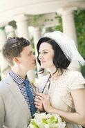 Becca wedding