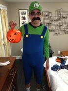 Gus Sorola Luigi Halloween costume
