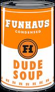 Dude Soup logo main-page