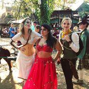 Ellie, Chelsea, Barbara, and Renaissance~