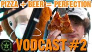 Pizza and Beer is Perfection - Face Jam Vodcast 2