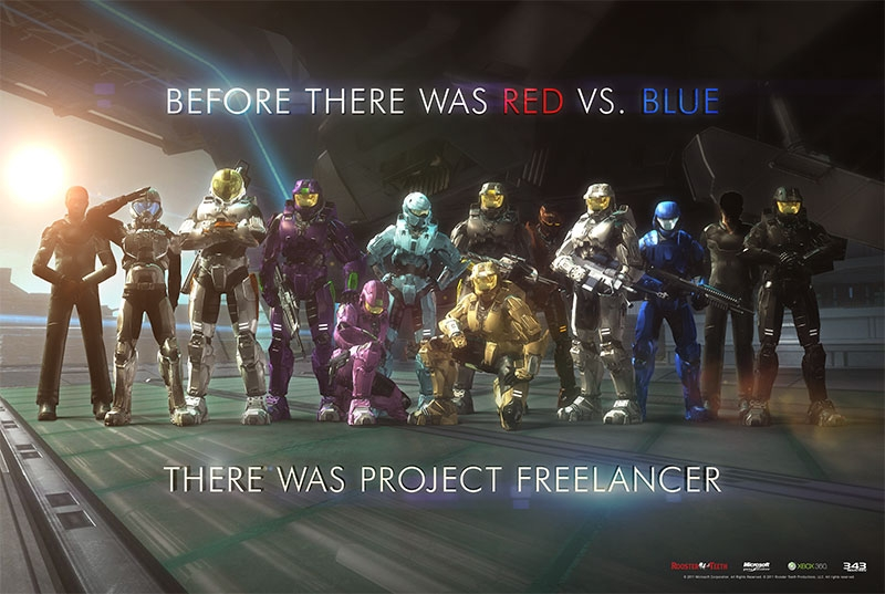 Red vs. Blue: The Project Freelancer Saga