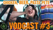Chicken, Beer, and Pasta Pete - Face Jam Vodcast 3