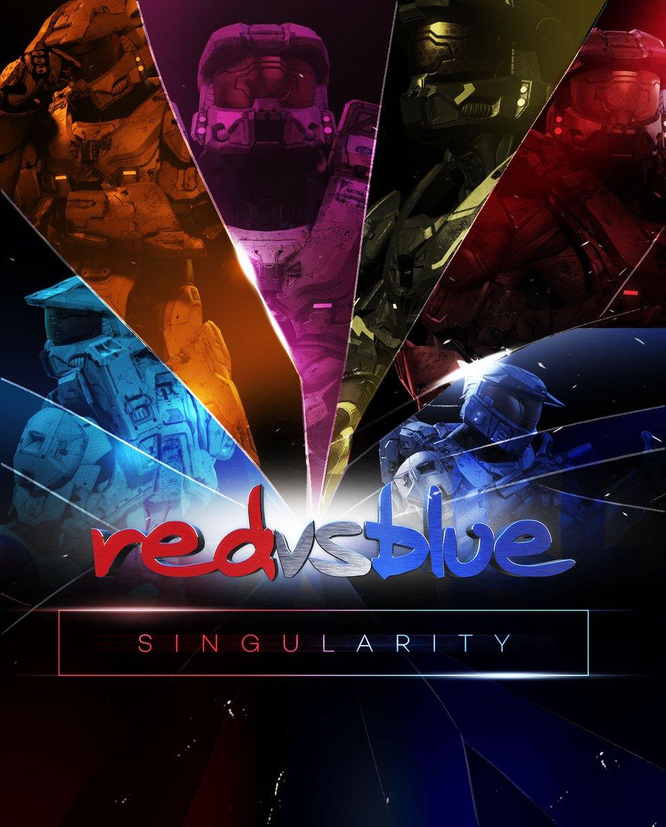Red vs. Blue: Singularity