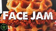 Face Jam KFC Nashville Hot Chicken & Waffles