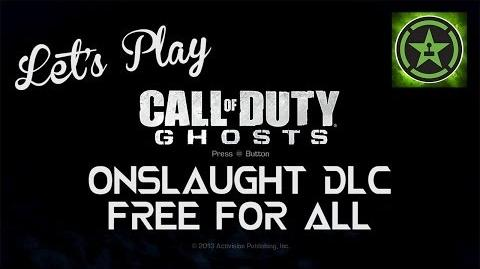 Let's Play Call of Duty Ghosts: Onslaught DLC Free-For-All