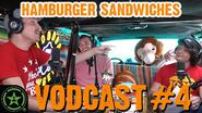 The Best Hamburger Sandwiches Beer Could Ask For - Face Jam Vodcast 4