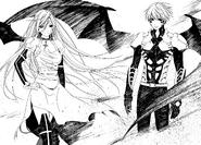 Moka and Tsukune Shinso