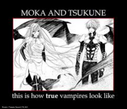 Tsukune and moka