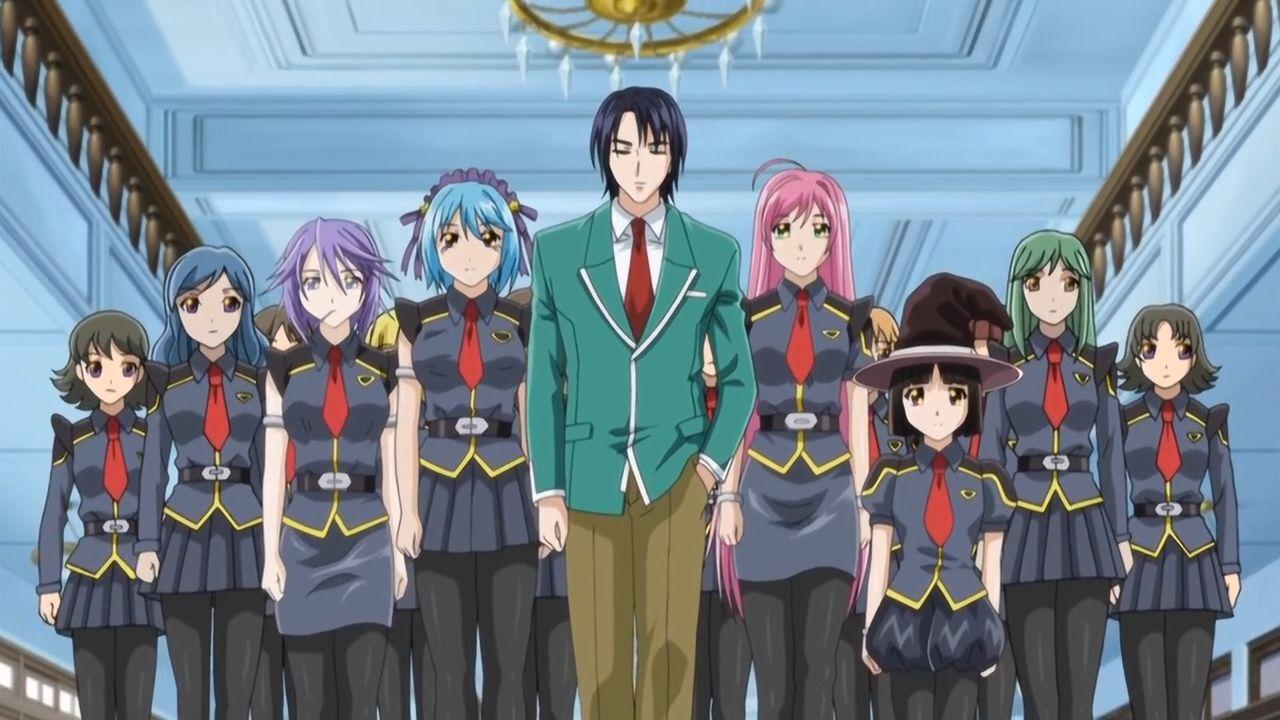 Kōtarō Ijūin   Rosario + Vampire Wiki   Fandom