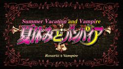 Rosario + Vampire Episode 9 Title Card.png