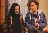 Roseanne darlene y novio