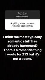Carina May 9th QandA on IG02 RomanticScene in 213