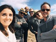 RNM s1 BTS Shiri Appleby, Tim Andrew and crew