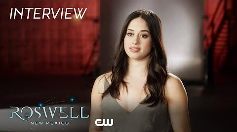 Roswell, New Mexico Jeanine Mason On Liz Ortecho The CW