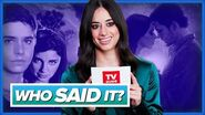 Jeanine Mason Plays WHO SAID IT Roswell or Roswell, New Mexico?