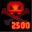Medal Vanquished 2500