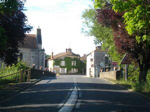 Pont sur le Clain à Saint-Martin-l'Ars