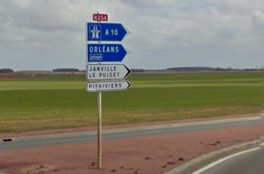 Route nationale française 254