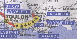 Autoroute française C52 (Ancien numéro)
